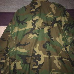 Jackets & Coats - Authentic army fatigue jacket